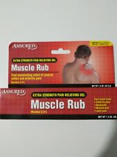 Extra Strength Pain relieving Gel Muscle Rub