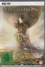 Sid Mei­er's CIVILIZATION VI - CIV 6 - als PC DVD - NEU & OVP - Deutsche Version