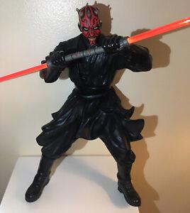 Figurine Dark Maul/Star Wars Ep1, Taille 30. En Parfaite État avec certificat