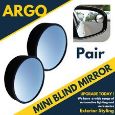2x Blind Spot Convex Mirrors Towing Backup Safety Reverse Learner Driver Car Van