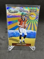Drew Lock- Broncos 2019 Playoff ROOKIE WAVE RC Insert Card #4 FREE SHIPPING
