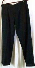 Ashworth Black Pants 34 Polyester Wear to Work 34x31