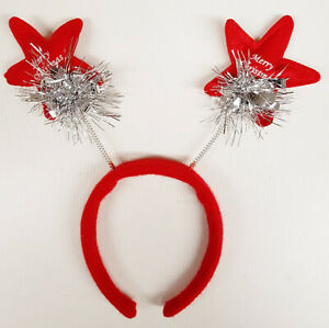 Job Lot 100 x Christmas Party Headband Head Bopper Novelty Xmas Fancy Dress