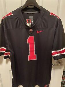 RARE Nike Ohio State #1 OSU 3XL Buckeyes Icon Black Jersey Football XXX-Large