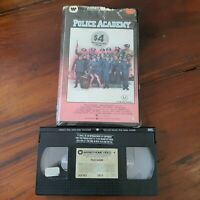 Police Academy - Kim Cattrall Clam Shell - VHS Video Tape Vintage