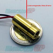MODULO LASER 650nm ROSSO COLLIMATORE LINEA ORTOGONALE driver APC 3V 4.5V diodo