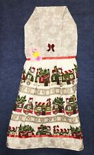 **NEW** Handmade Christmas Holiday RV Camping Hanging Kitchen Hand Towel #2125