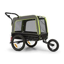 Rimorchio Bici Bicicletta Trasporto Carrello Cani Trasportino Animali 240L 40kg