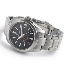 New Grand Seiko Spring Drive GMT Men's Stainless Steel Watch SBGE211