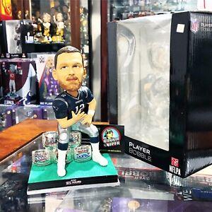 TOM BRADY New England Patriots 5X Super Bowl Champion NFL Bobblehead