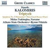 Kalomiris - Symphony No 3, Manolis Kalomiris, Very Good CD