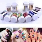 Galaxy Nail Art Transfer Wrap Foil Sticker Glitter Tip Decal Decoration DIY jj