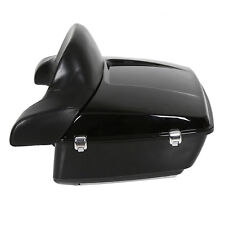 King Tour Pack Touring Pak Trunk W/ Backrest For Harley Touring FLHR FLHX 14-UP