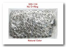 Non O-Ring Drive Chain Natural Color Pitch 520 x114  Links ATV Motorcycle