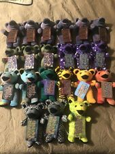 Bulk Lot of 21 Grateful Dead Bean Bears. Sugaree Jack Straw! First Edition Tags!