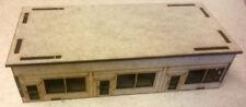 15 mm Scale Post War Shop rangée MDF Kit, Team Yankee, FOW ou de flammes de travail