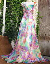 Absolutely Gorgeous MONSOON *Paradise*floral SILK embellished maxi dress sz 18