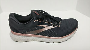 Brooks Glycerin 18 Running Shoes, Black/Rose Gold, Women's 10.5 M