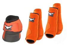 Relentless Trevor Brazile Sport Boots - Fronts/Hinds/Bell Boots - Orange-Mediums