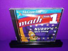 Math Grade 1 Nubby's Quiz Show Mcgraw-Hill Pc Cd Rom B476