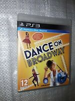 Playstation 3 Dance On Broadway Game complete with instructions manual
