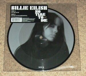 BILLIE EILISH - No Time To Die - Limited Edition Picture Disc Vinyl Single - NEW