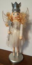 Shabby Chic Sugar Plum Fairy Ballerina Nutcracker White Victorian Princess NEW