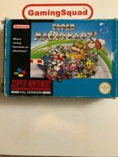 Super Mario Kart Nintendo SNES PAL Video Games