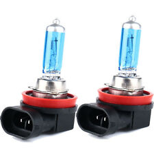 2Pcs H11 6000K Xenon Gas Halogen Headlight Super Bright  White Light Bulbs 100W