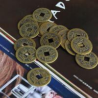 "10pcs Feng Shui Monedas 1.00 ""2.5cm Suerte moneda china Conjunto de colección"