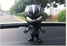 Car Ornaments Cartoon Shaking head for Black Panther Doll Toy Automobile Dashboa
