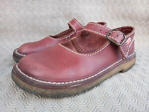 DUCKFEET HIMMERLAND Red Leather Women's Lace-up shoes Size 39