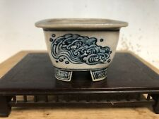 Daisuke Sano Shohin Size Bonsai Tree Pot. Beautiful Painting 3�