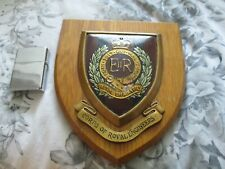More details for   corps of royal engineers wall plaque hand painted made in great britain