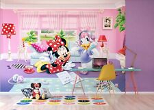 Disney Wallpaper mural for children's bedroom Minnie Mouse design photo wall