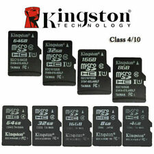 Kingston MicroSD SDHC 8GB/16GB/32GB TF C4/C10 Memory Card Memoria f Phone Tablet