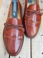 ALLEN EDMONDS Mens  Light Brown Dress Shoe Comfortable Slip On Loafer Size 10EEE