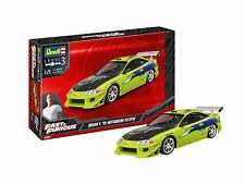 Fast and Furious Brians MITSUBISHI Eclipse 1 25 Scale Model Kit Revell 07691
