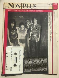 VARIOUS ARTISTS~ Non Plus No2  Original US 1982 Cassette - Agent Orange Blasters