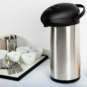 5L Large Travel Camping Flask Kettle Hot Water Tea Beverage Drinks Airport