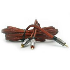Cordon 2 RCA M / Jack 3,5mm 3 m Digiline