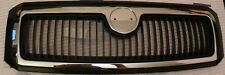 SKODA FABIA 6Y 2000-2004 COMPLETE FRONT GRILL GRILLE CHROME/BLACK OE: 6Y0821101A