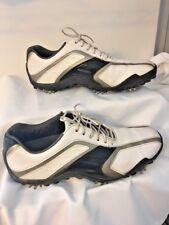 Footjoy FJ Golf Shoes M Size 7 Women's Size 58125 Leather White Black Gray