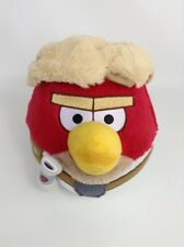 "Angry Birds Star Wars Luke Skywalker 7"" Red Bird 2012 Plush Stuffed Toy"