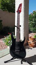 Ibanez Iron Label 7 String Guitar Red Premium RG927QM Neck Duncan Custom 5 +Case