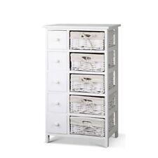 Artiss Storage Cabinet Dresser Chest of Drawers Bedside Tables 5 Baskets Hallway
