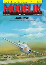 Modelik 07/05 -  Jakowlew Jak-17 W Magnet    1:33