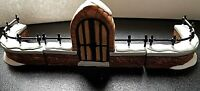 """Dept 56 Dickens' Heritage Village """"Churchyard Gate and Fence"""" #58068 New Retired"""