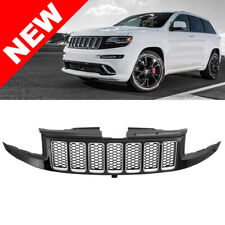 2014+ Jeep Grand Cherokee SRT SRT8 Style Front Grille - Gloss Black w/ Chrome
