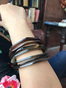 Buffalo Horn Bangles Set , Horn bracelet , Boho Bracelet , Buffalo Horn